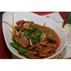 Thai-Curry mit Rind